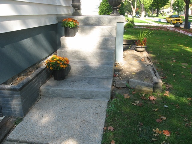 Concrete Steps Resurface Repair 1