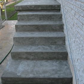 Concrete Stairs 4