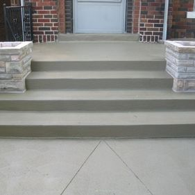 Concrete Stairs 8