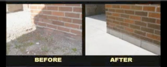 Before and After Brick and Block Repair