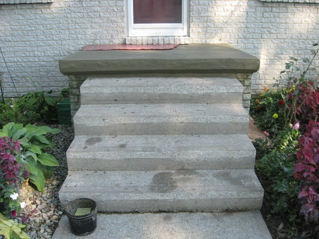 Concrete Steps Resurface Repair 2