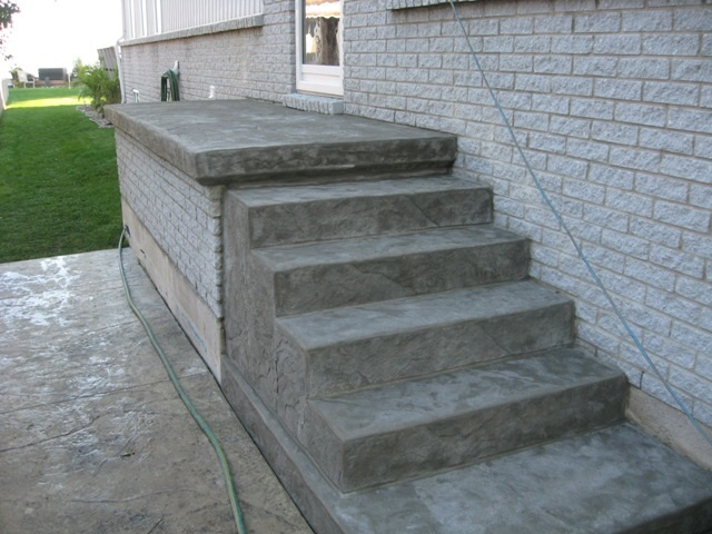 Concrete Stairs 3